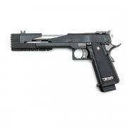 Страйкбольный пистолет (WE) Hi-Capa 7.0 металл Tape A Black (GGB-0321TMB)