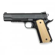 Страйкбольный пистолет (WE) Colt 1911 W055 Kimber style Black (GGB-0347TM)