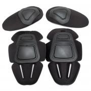 Наколенники + налокотники Protective Gear for Combat Uniform GEN.2 (Black)