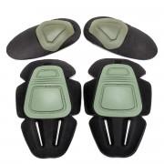 Наколенники + налокотники Protective Gear for Combat Uniform GEN.2 (Olive)