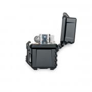 Зажигалка with Tactical lighter case Black