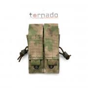 Подсумок (TORNADO airsoft) пистолетный двойной (МОХ)