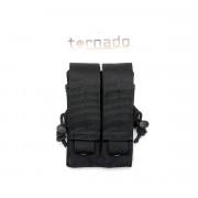 Подсумок (TORNADO airsoft) пистолетный двойной (Black)