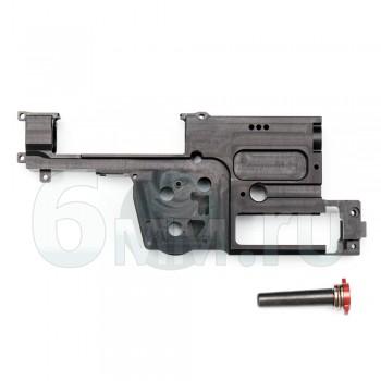 Гирбокс (RetroArms) 8мм алюмин. CNC ver.P90 (с быстросъемн. пружиной)