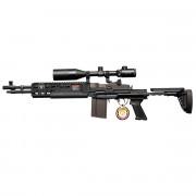 Страйкбольный автомат (G&G) M14 EBR Short+ПРИЦЕЛ