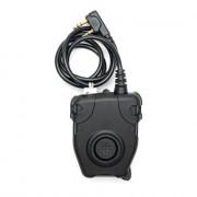 Кнопка PTT (WADSN) - EARMOR Peltor для рации (Kenwood-BaoFeng) Black