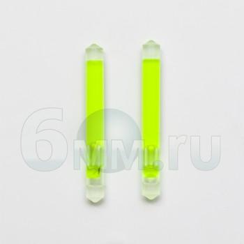 Хис (illumiglow) 1,5' (3,8см) 2шт зеленый 4-часовой