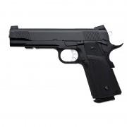 Страйкбольный пистолет (KJW) Hi-Capa металл KP-05 Black CO2