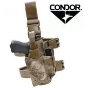 Кобура (Condor) Tornado на ногу TTLH-009 (МОХ Серый)