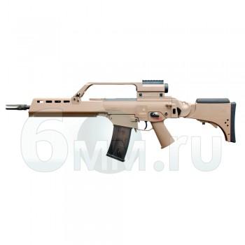 Страйкбольный автомат (Umarex) G36KV TAN (ST-AEG-03) Blowback