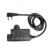 Кнопка PTT - EARMOR M51 Kenwood-BaoFeng