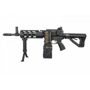 Страйкбольный пулемет (G&G) CM16 LMG AEG - Black (EGC-16P-LMG-BNB-NCM)